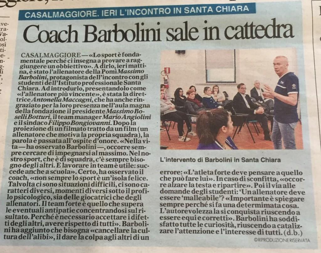 articolo Santa Chiara